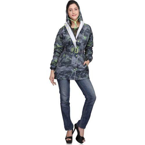ZEEL Geometric Print Women Raincoat