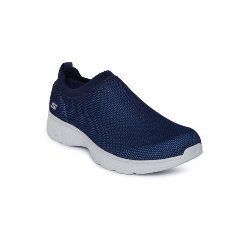 Buy Skechers Men Navy Blue GO WALK 4 INTEND Walking Shoes