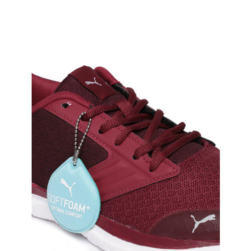 Puma Men Maroon Agile t1 NM IDP Running Shoes
