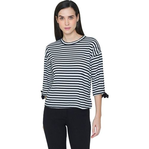 AND Black Striped Top