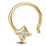 Devina Jewels Sterling Silver Nose Pin
