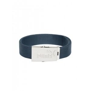PUMA  Teal Blue Webbing Belt For Unisex