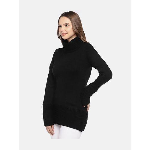 Globus Black Regular Fit Top