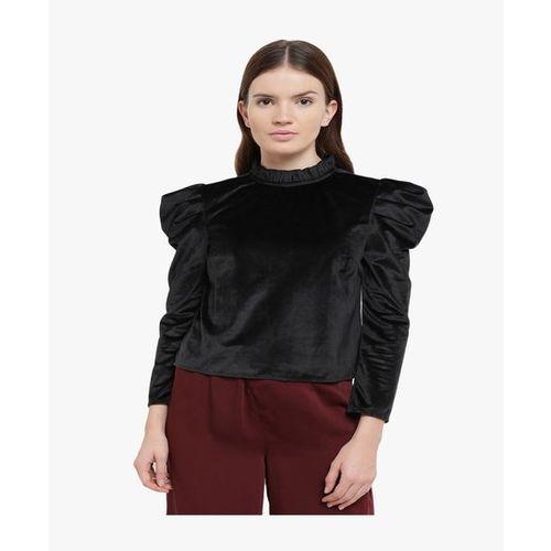 Kazo Black Full Sleeves Top