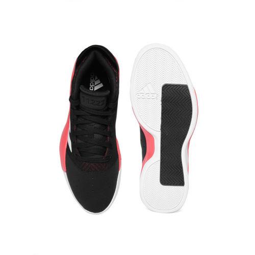 ADIDAS Men Black Pro Adversary 2019 Basketball Shoes