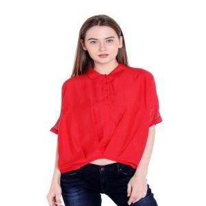 Spykar Red Cotton Top