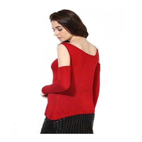 Kazo Red Regular Fit Top