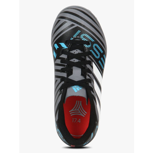 Cuota de admisión fascismo Joya  Buy ADIDAS Nemeziz Messi Tango 17.4 Tf J Grey Football Shoes online |  Looksgud.in
