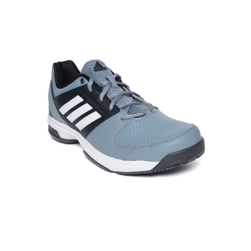 ADIDAS Men Blue Hase Perforated Tennis Shoes