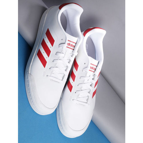 Buy Adidas Men White \u0026 Red Court70S