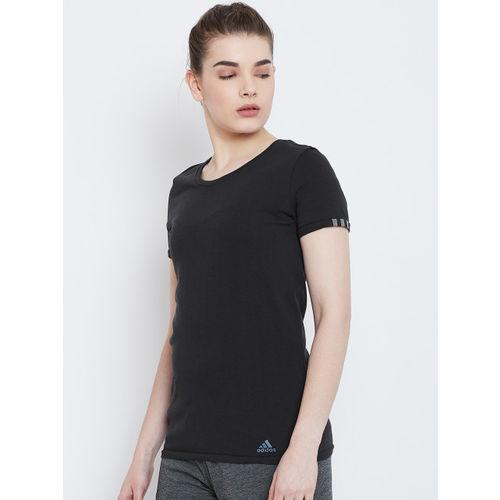 ADIDAS Women Black 25/7 TEE W T-shirt