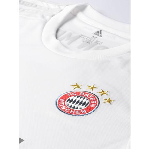 ADIDAS Men White FC Bayern Munich Away Jersey