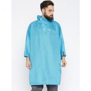 Wildcraft Blue Hodded Rain Poncho