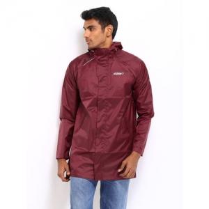 Wildcraft Men Maroon Rain B Plus Coat'14