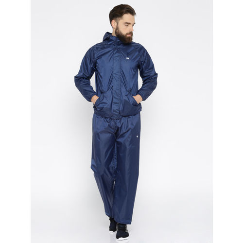 Wildcraft Navy Rain Jacket & Trousers