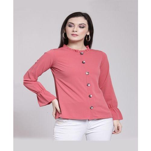 PlusS Pink Full Sleeves Top