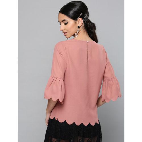 Harpa Women Dusty Pink Embellished Top