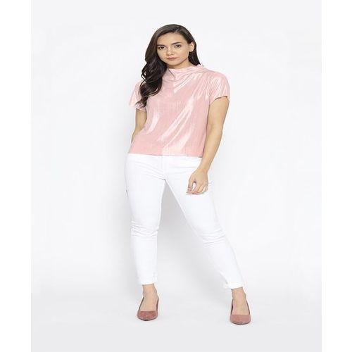 Cayman Pink Textured Top