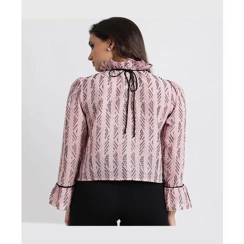 Kazo Pink Printed Top