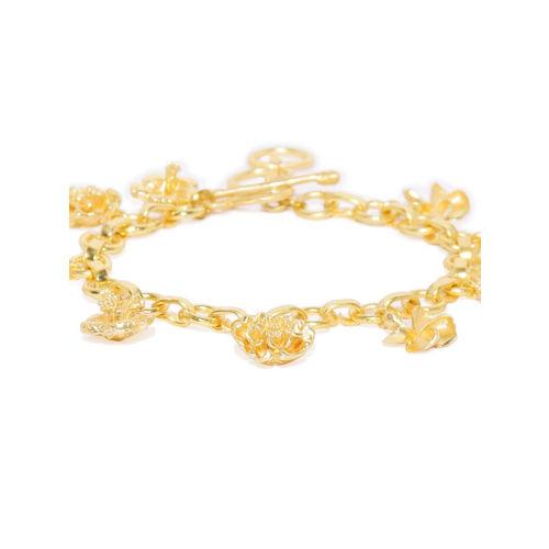 Pipa Bella Gold-Plated Charm Bracelet