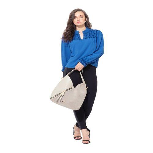 Kazo Blue Regular Fit Top