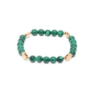 Accessorize Green Metal Elasticated Bracelet