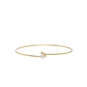 Accessorize Women Gold-Toned Bangle-Style Bracelet