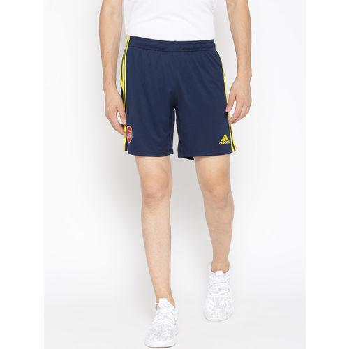 ADIDAS Men Navy Blue Solid AFC Football Sports Shorts
