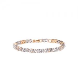 Amavi Gold-Toned & Silver-Toned Charm Bracelet