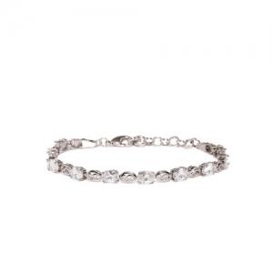 Amavi Silver-Toned Link Bracelet