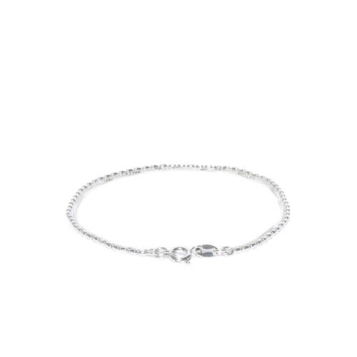 Carlton London 925 Sterling Silver Dual-strand Bracelet