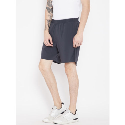 ADIDAS Men Charcoal Grey Pure Running Shorts