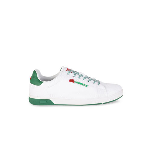Carrera Men White Sneakers