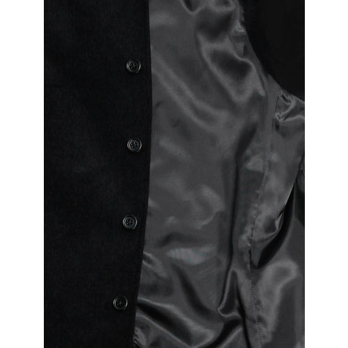 Blackberrys Black Woollen Nehru Jacket