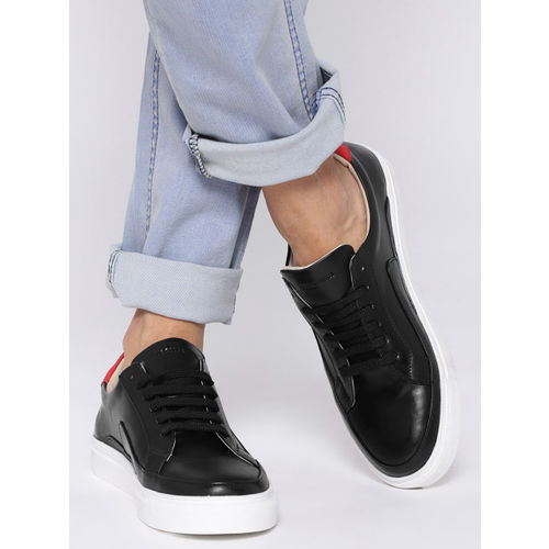 Buy Doc Martin Men Black Sneakers