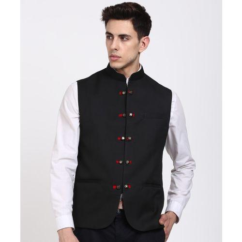 Hangup Sleeveless Solid Men's Jacket
