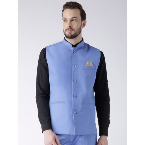 Hangup Sleeveless Solid Men Jacket
