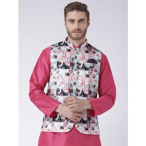 Hangup Sleeveless Printed Men Jacket