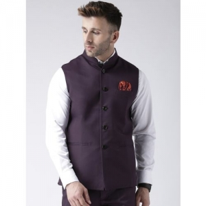 Hangup Sleeveless Solid Men Jacket