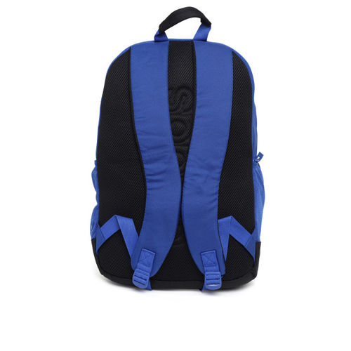 ADIDAS Unisex Blue & Green Colourblocked ST 4 Laptop Backpack