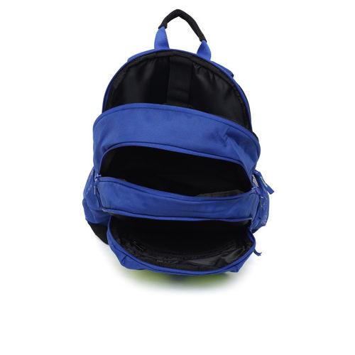 ADIDAS Unisex Blue & Green Colourblocked ST 4 Laptop Backpack