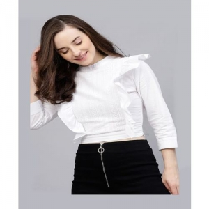 Street 9 White Lace Top