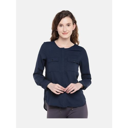 Globus Navy Regular Fit Top