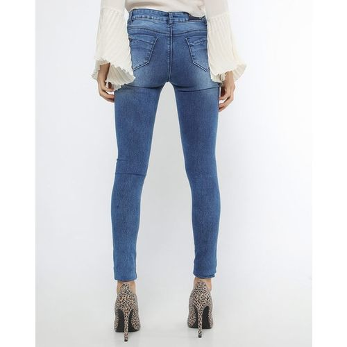 Devis Low-Rise Skinny Fit Jeans
