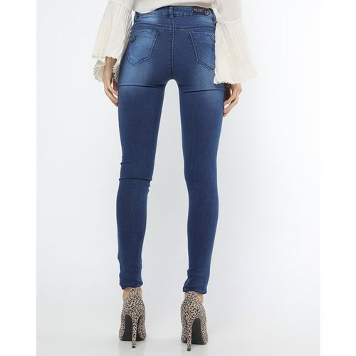 Devis Skinny Fit Jeans with Whiskers