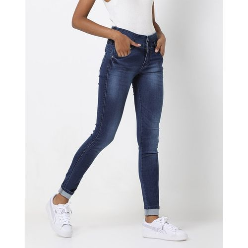 Devis High-Rise Skinny Fit Denim Jeans