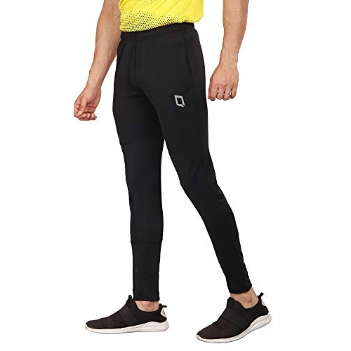 QIIRO Black Stretchable lightweight Track Pant