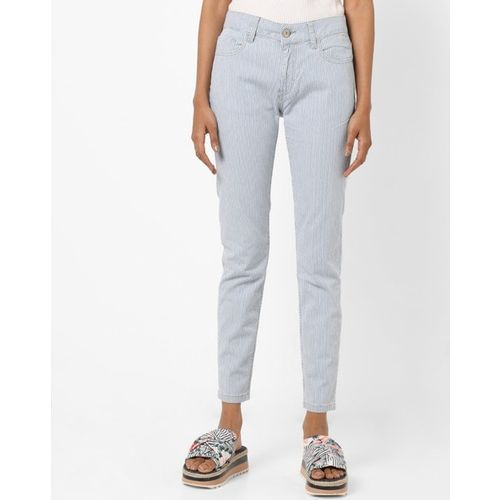 UNITED COLORS OF BENETTON Mid-Rise Skinny Jeans with Belt Loops
