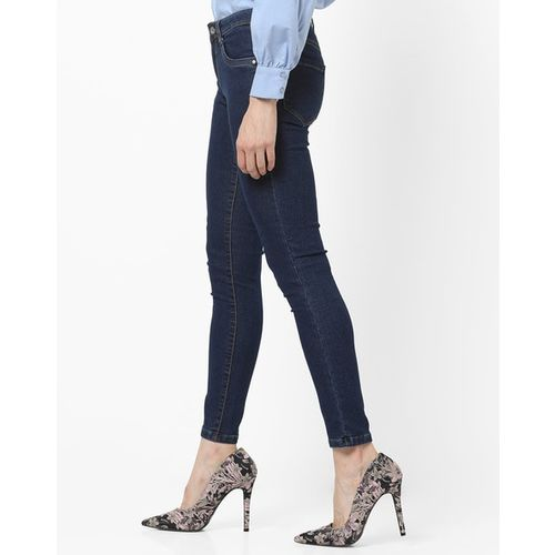 KRAUS Mid-Rise Jeans with Contrast Stitch
