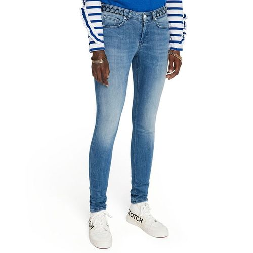 SCOTCH & SODA La Bohemienne Washed Skinny Jeans